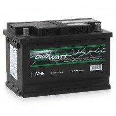 Автомобильный аккумулятор GIGAWATT 0185756803 прав [+] 68Аh 570A